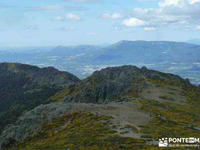 Cuerda Larga - Miraflores de la Sierra; mochilas trekking mujer senderos españa tarjeta federativa